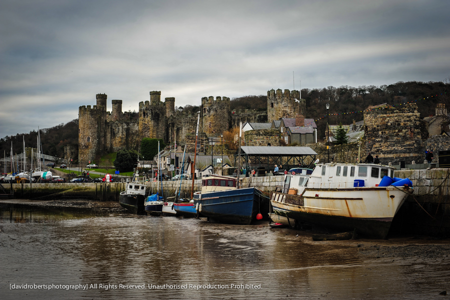 conwy castle and quay-4340