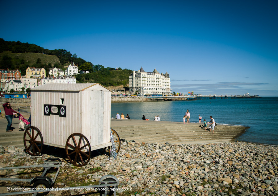 bathing machine llandudno prom