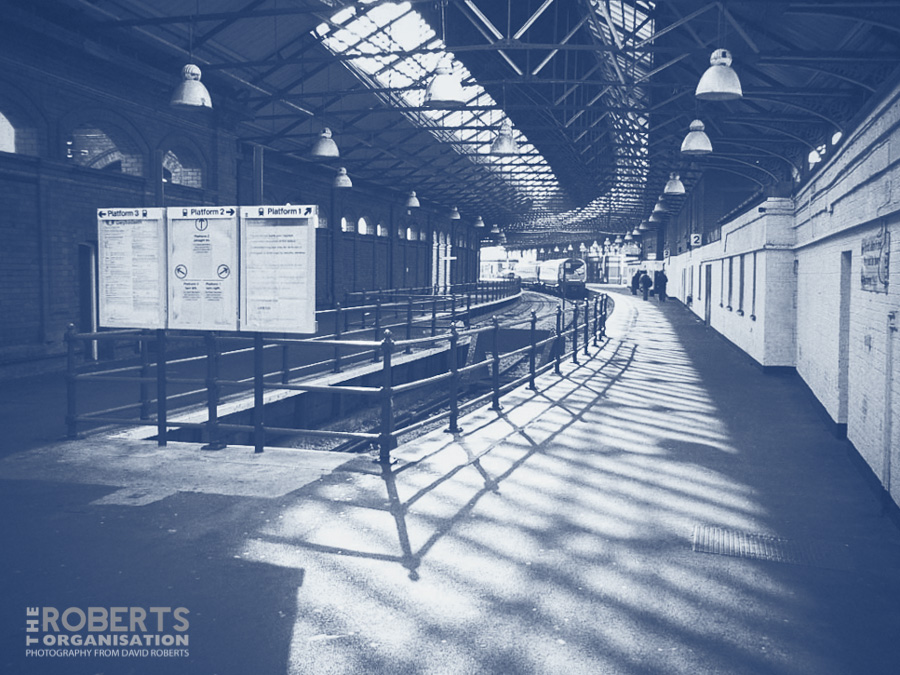 holyhead station concourse-