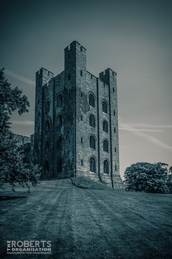 penrhyn castle tower-
