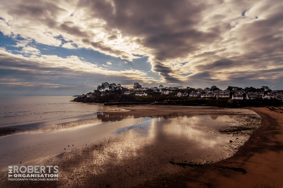 Abersoch Beach Reflections-3037